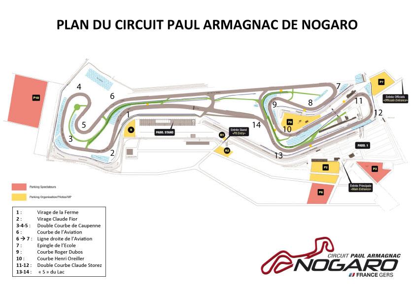 Circuito Nogaro : Supertourisme nogaro romain carton