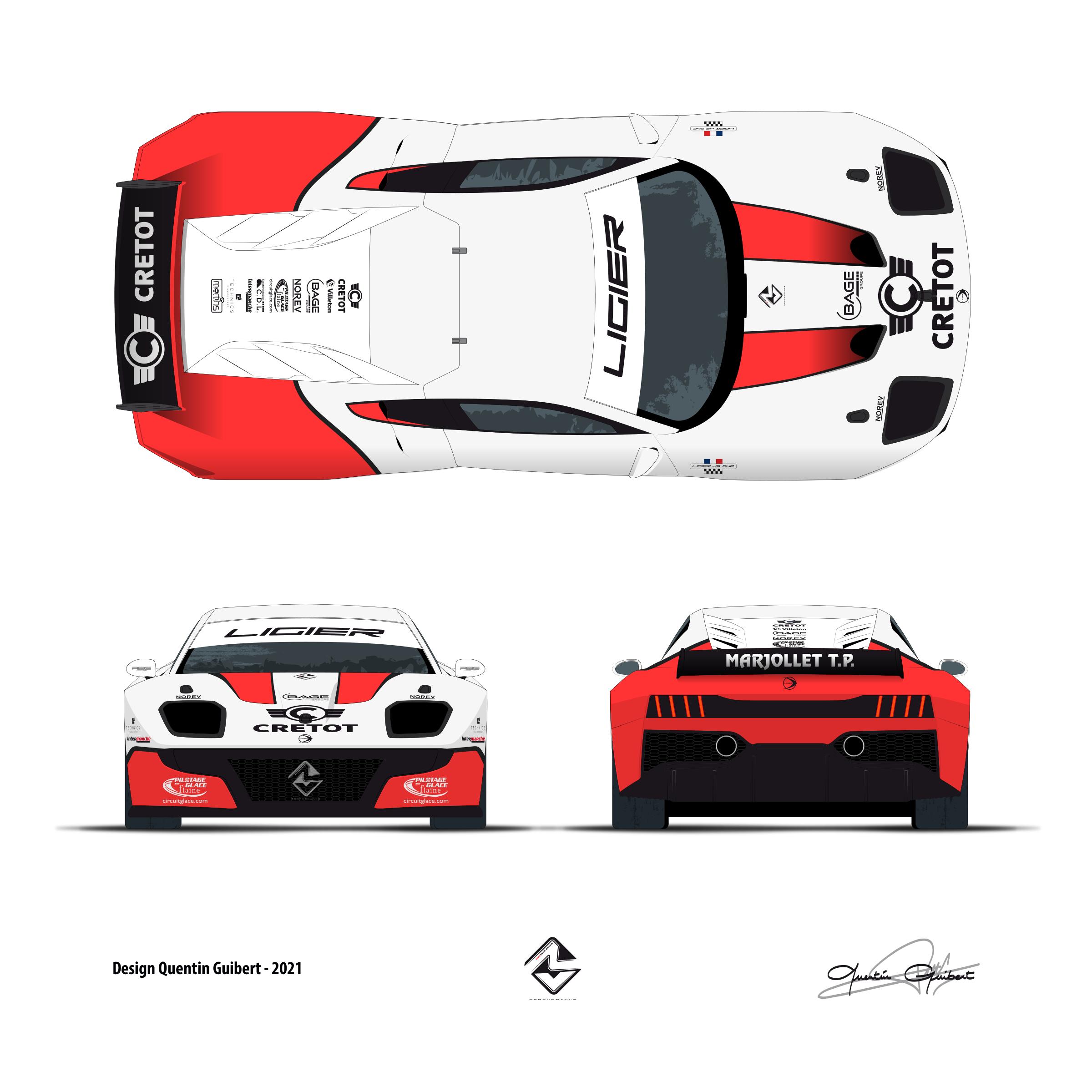 Ligier N°15 2021